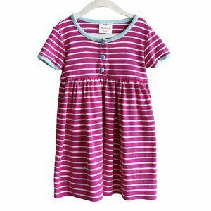Hanna Andersson Striped Short Sleeve Dress